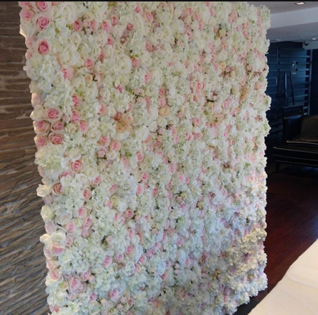 Pink and white flower wall npm events pink and white flower wall mightylinksfo